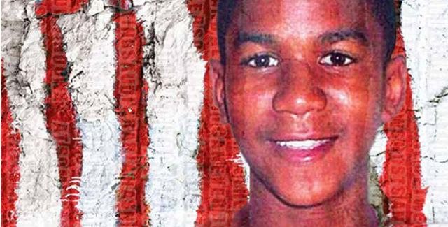 Trayvon Martin -- image by Peter Jablonksi