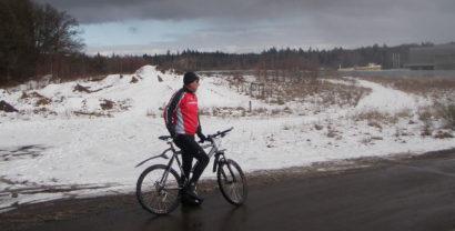 Bike in the winter!