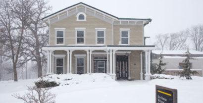 The Dey House in Iowa City