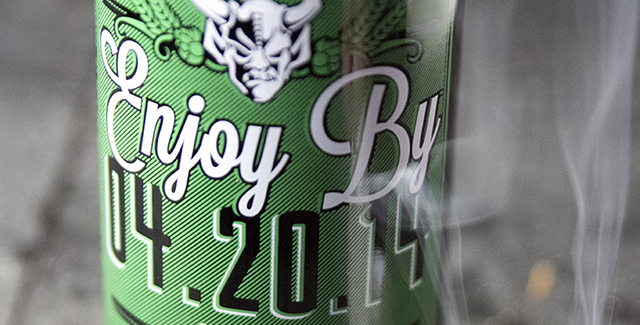 Stone Brewing's Enjoy By 4.20.14 IPA