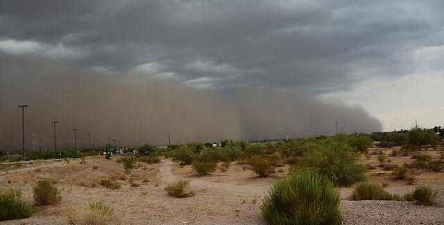 Dust storm? Haboob?