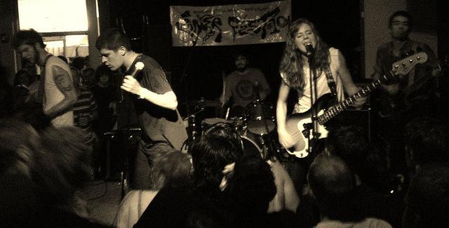 Ex-Cult perform at Gonerfest