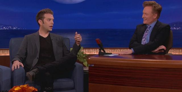 Anthony Jeselnik chats with Conan