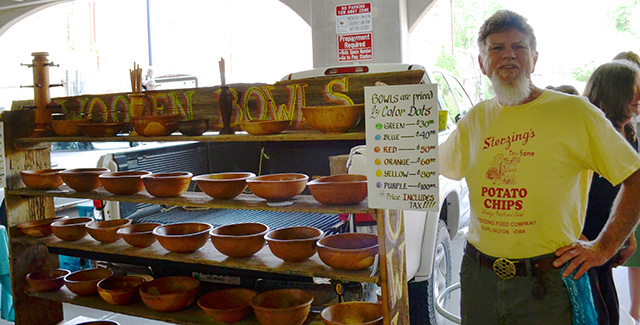 James Spring's Wood bowls