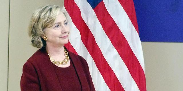 Hilary Clinton in Cedar Rapids, Iowa