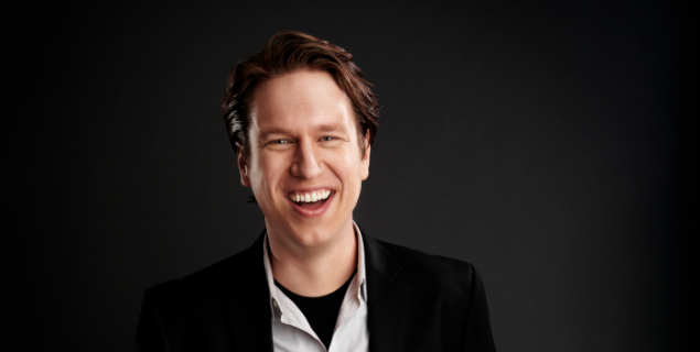 Pete Holmes performs stand up at the IMU on Dec. 5. -- Photo courtesy of Pete Holmes