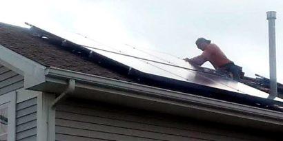 Iowa City solar power