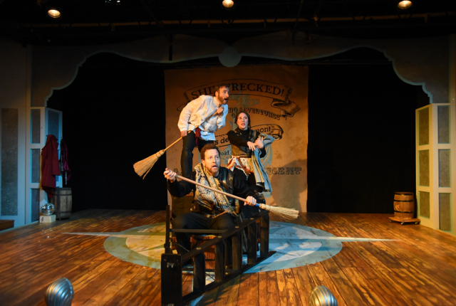 Osheroff S Shipwrecked Brings Brash And Brave Comedy