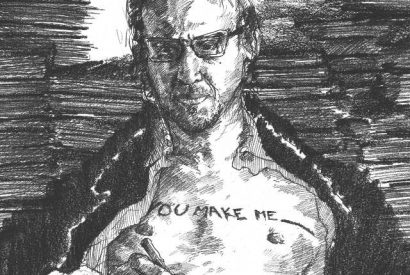 Richard Hell -- Illustration by Jacob Yeates