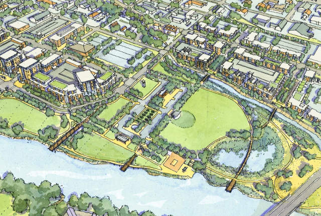 Riverfront Crossings District