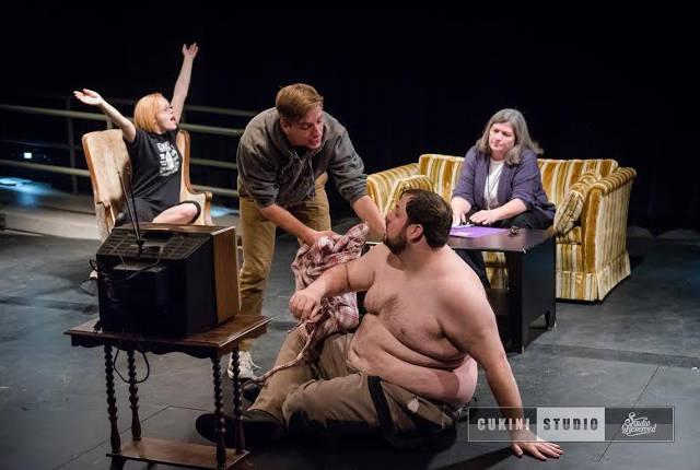 Joseph Anderson's 'Feeding' in the Theatre Cedar Rapids Underground New Play Festival
