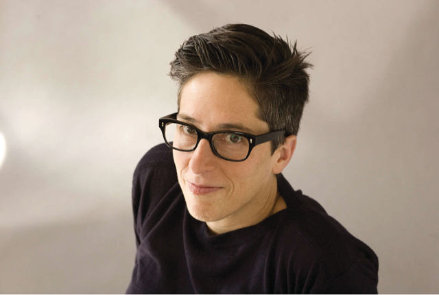 Alison Bechdel - Photo by Elena Seibert