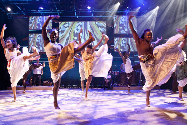 Step Afrika! will present a commissioned piece on Hancher's 2016-17 season.