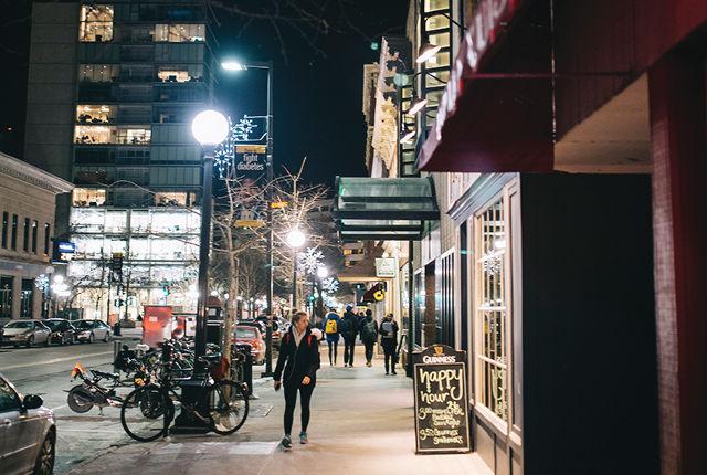 downtown iowa city - Photo by Britt Fowler
