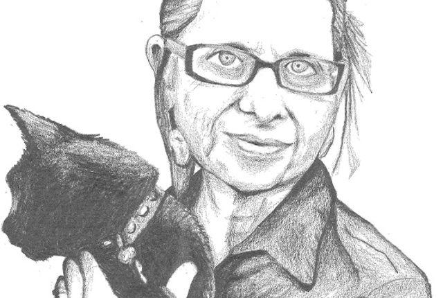Lydia Davis - Illustration by Brock Meunch