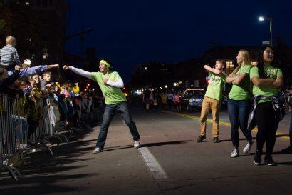 Zak Neumann, Homecoming Parade
