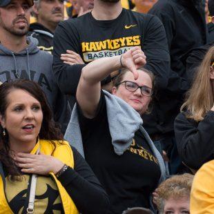 Hawkeye Football, Homecoming, Zak Neumann