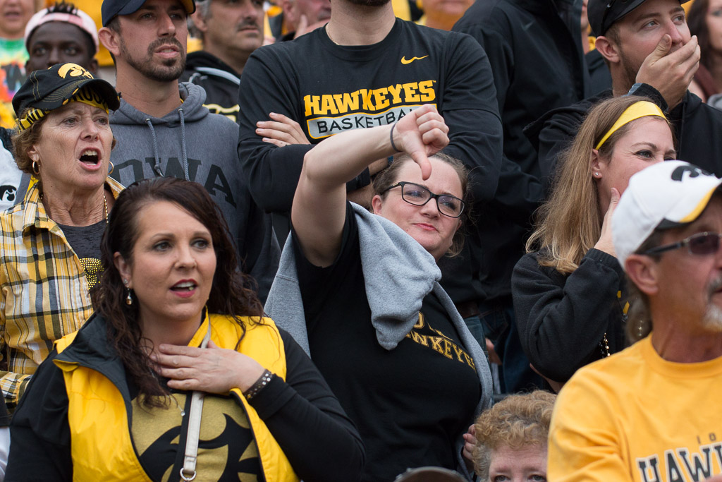 Hawkeye Football, Homecoming, Zak Neumann