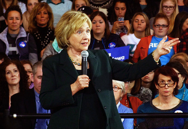 Clinton - Photo by Adam Burke