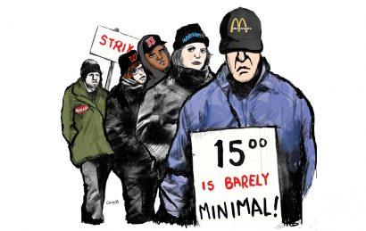 15 minimum wage labor