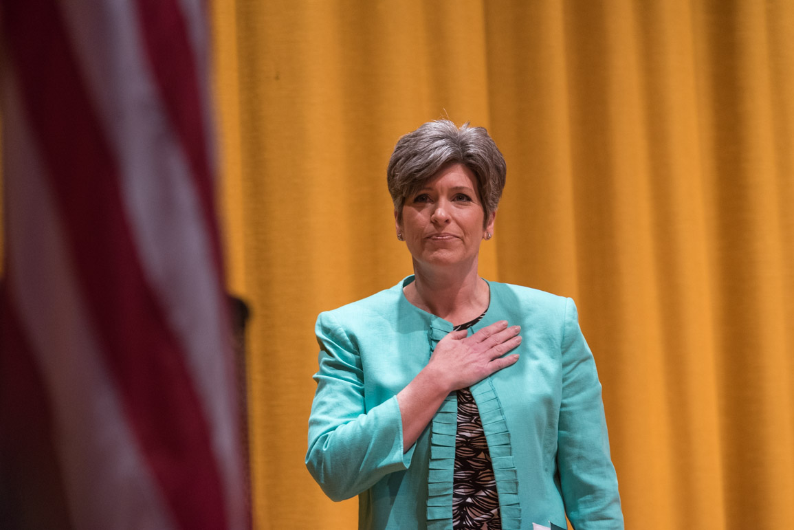 Joni Ernst sends fundraising letter attacking Democrats for 'dirty