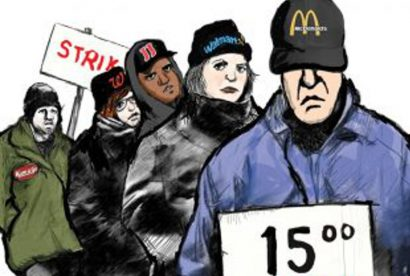 15 minimum wage labor