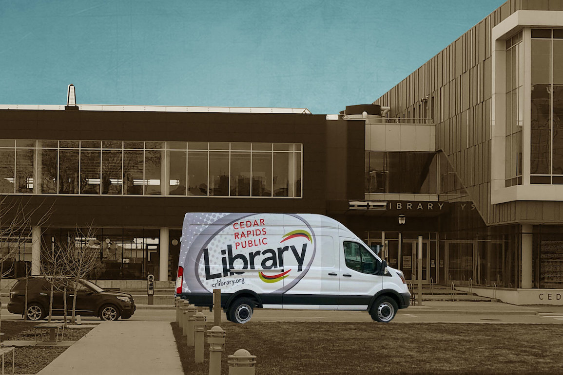 Cedar Rapids Public Library is rolling out a technology van to increase access to computers and other tech tools | Little Village